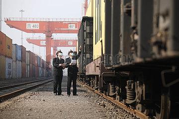 # CHINA-SHANDONG-jiaozhou-Qilu FREIGHT TRAIN (CN)