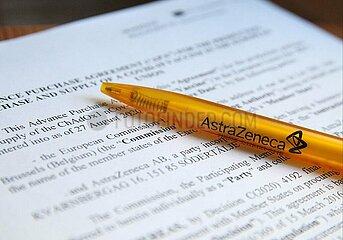 Vertrag zwischen EU und Astrazeneca