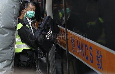 CHINA-Hongkong JIMMY LAI-CUSTODY (CN)