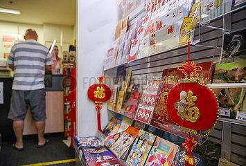 AUSTRALIEN-SYDNEY-chinesische Neujahr-FEIER