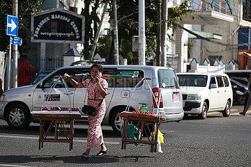 MYANMAR-YANGON-STATE OF EMERGENCY