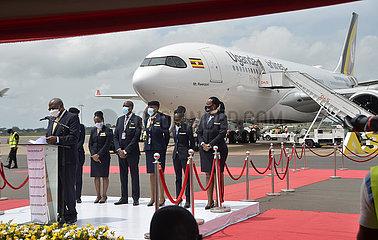 UGANDA-ENTEBBE-SECOND AIRBUS A330-800NEO AIRCRAFT-ARRIVAL