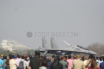 INDIEN-BANGALORE-AERO INDIA 2021-TAG