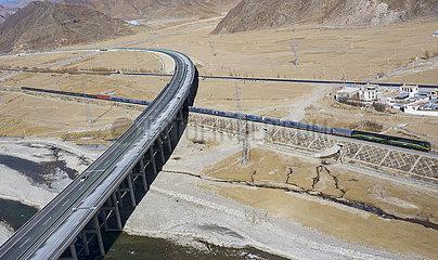 CHINA-TIBET-Verkehrsnetz (CN)