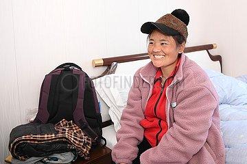 (FOCUS) CHINA-FUJIAN-SPRING FEST TRAVEL-Wander- Mutter-Seegurken-Zucht (CN)