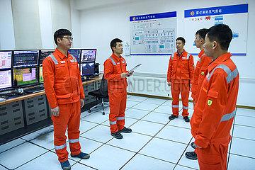 CHINA-XINJIANG-Horgos-erdgas INITIAL Verdichterstation (CN)
