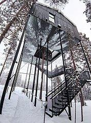 SCHWEDEN-STOCKHOLM-TREE HOTEL