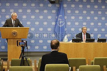 UN-GUTERRES-LIBYEN-ZWISCHEN EXECUTIVE AUTHORITY-ABKOMMEN
