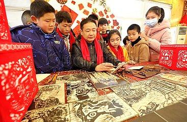 # CHINA-ZHEJIANG-HUZHOU STAY-PUT-SPRING Festival (CN)