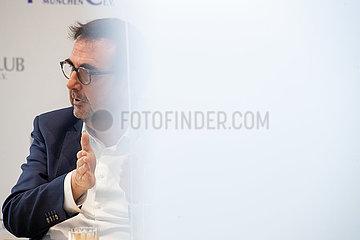 Gesundheitsminister Klaus Holetschek im Presseclub