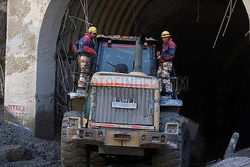 INDIEN-Uttarakhand-GLACIER BURST