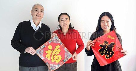 CHINA-SPRING FEST-COVID-19-FAMILY SEPARATION-REUNION PORTRAIT (CN)