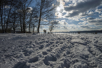 Winter am Starnberger See  Februar 2021