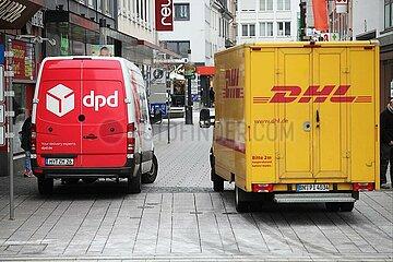 DPD und DHL