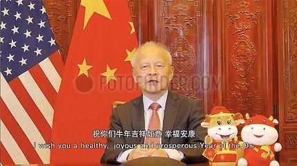 U.S.- WASHINGTON  D.C.-CHINESE LUNAR NEW YEAR-VIRTUAL CONCERT