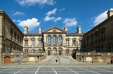 Grossbritannien  Nordirland  Belfast - Customs House in der City wurde 1857 vom Architekten Charles Lanyon im Palazzo-Stil gebaut