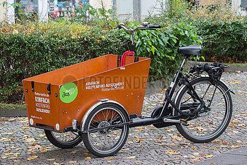 Berlin  Deutschland - Transportrad von fLotte