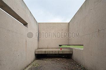 Berlin  Deutschland - Geschichtspark Ehemaliges Zellengefaengnis Moabit