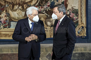 ITALIEN-ROM-NEW PM-CABINET