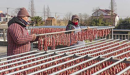 CHINA-LUNAR NEW YEAR-SPRING FEST-Snacks (CN) CHINA-LUNAR NEW YEAR-SPRING FEST-Snacks (CN)