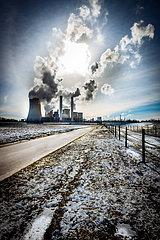 RWE Braunkohlekraftwerk Niederaussem