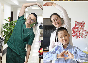 CHINA-SPRING FESTIVAL-WORKERS-REUNION IN PICTURES