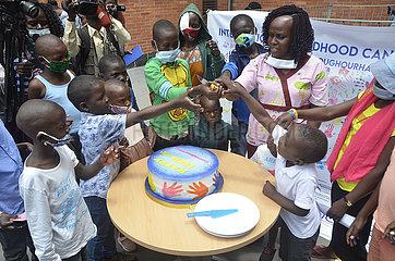 UGANDA-KAMPALA-INTERNATIONAL CHILDHOOD CANCER DAY