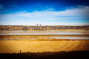 Garzweiler Tagebau der RWE