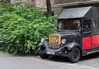 Berlin  Deutschland - Kleintransporter der Asquith Motor Company