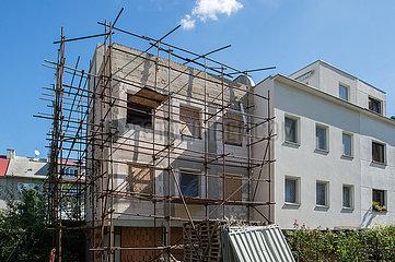 Brno  Tschechische Republik - Sanierung der Werkbundsiedlung Bruenn  Haus 12 und 13