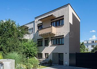 Brno  Tschechische Republik - Werkbundsiedlung Bruenn  Haus 3 von Bohuslav Fuchs