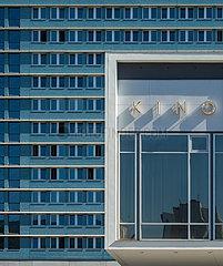 Berlin  Deutschland - Aussenansicht des Kino International