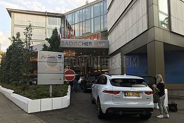 Baden-Baden  Deutschland  Hotel Radisson Blu Badischer Hof