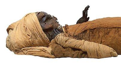 ÄGYPTEN-ALTE ÄGYPTISCHE KING-CT-Scan