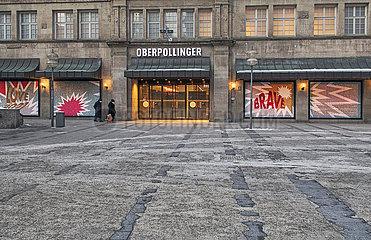 Kaufhaus Oberpollinger  Muenchen  13. Februar 2021
