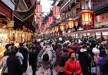 CHINA-Shanghai-Tourismus-Einnahmen (CN)