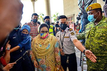 MALAYSIA-KUALA LUMPUR-ROSMAH-Korruptionsank