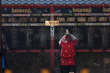 CHINA-QINGHAI-XINING-TAER MONASTERY-GEBE (CN)