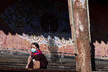 CHINA-QINGHAI-XINING-TAER MONASTERY-PRAYER (CN)
