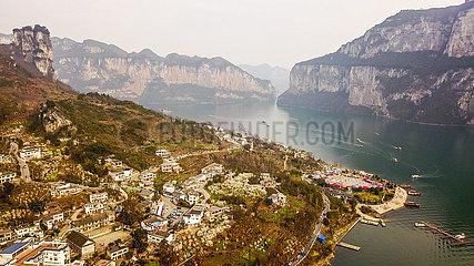 CHINA-GUIZHOU-Bijie-Xinren MIAO TOWN-Huawu DORF-SPRING (CN)