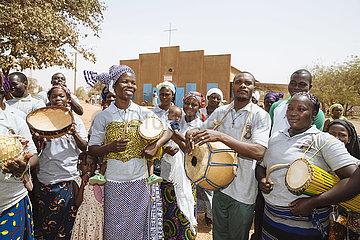 Katholische Messe am Sonntag