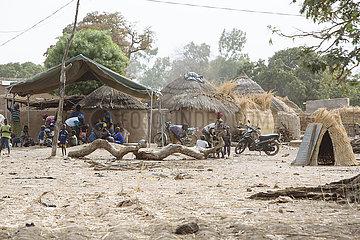 Dorfansicht von Balga