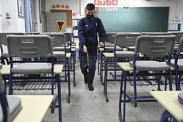 CHINA-FUJIAN-SCHOOL-Desinfektionen (CN)