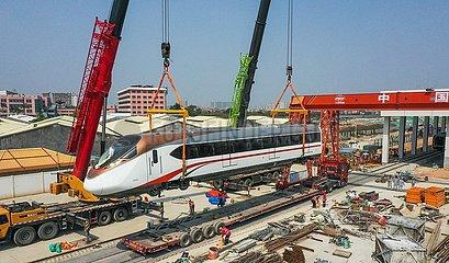 CHINA-GUANGDONG-Metro-Linie (CN)