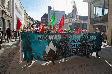 Protest gegen die Münchner Sicherheitskonferenz