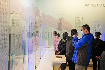 CHINA-CHONGQING-Baiheliang Museumswiedereröffnung (CN) CHINA-CHONGQING-Baiheliang Museumswiedereröffnung (CN) CHINA-CHONGQING-Baiheliang Museumswiedereröffnung (CN)