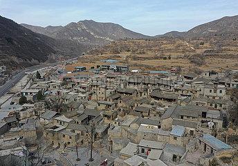 CHINA-HEBEI-SHIJIAZHUANG-DALIANGJIANG DORF-VIEW (CN)