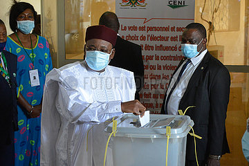 NIGER-PRESIDENTIAL ELECTION-VOTE