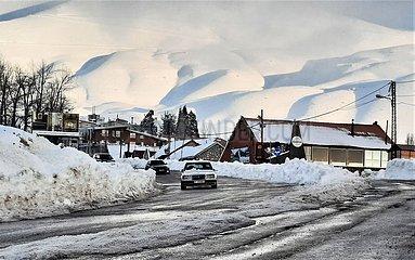 LIBANON-Bsharri-SNOW