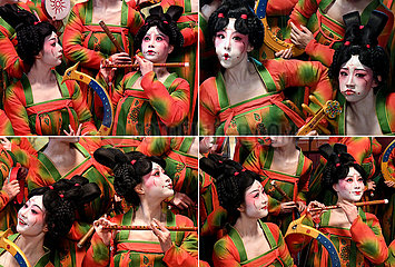 CHINA-HENAN-ZHENGZHOU-Tang-Zeit-DANCING-behind-Szenen (CN)